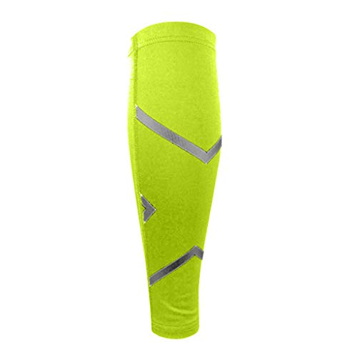 - TIFENNY Outdoor Travel Calf Compression Sleeve Leg Performance Support Sport Running Leggings Socks Calf Sleeve Green