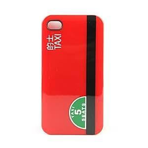 conseguir Caso prima estilo texi de protección para iphone4g (rojo)