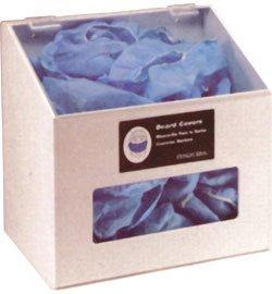 - Horizon 5120-W Heavy Duty Plastic Hair Net/Beard Cover/Shoe/Arm Sleeve Cover Dispenser with Clear Lid, 12