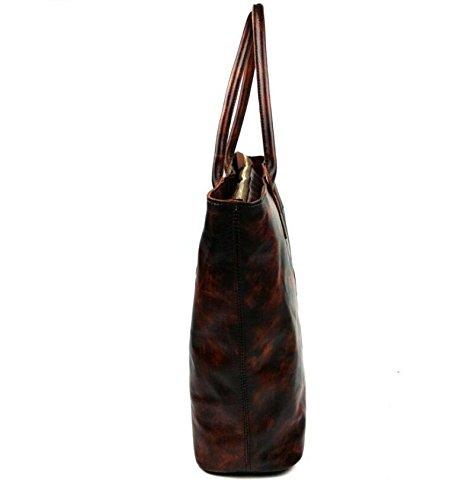 Weibliche Baodan Leder Umhängetasche-Europäische Umhängetasche