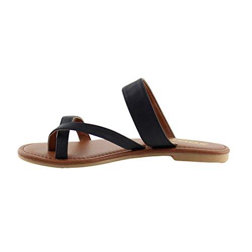Pictures of SODA Shoes Women Flip Flops Flat Summer Deputy 6