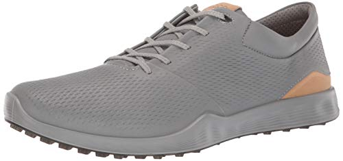 (ECCO Men's S-Lite Golf Shoe, Wild Dove Yak Leather, 12 M US)