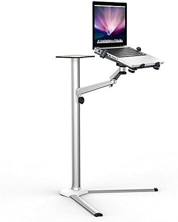 Thingy Club Universal Laptop Bodenständer Aus Aluminium Auch Für Tablets Multifunktional Schwenk Und Neigefunktion Einarmig Bürobedarf Schreibwaren
