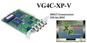 WestNet 4-Channel MPEG4 BNC DVR Video Capture Card (VG4C-XP) PCI with Audio 4 Channel Dvr Pci
