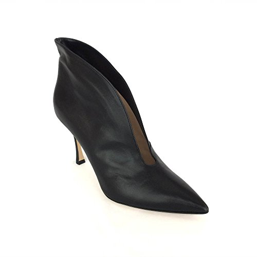 fauzian jeunesse pointed toe ankle boots made in italy