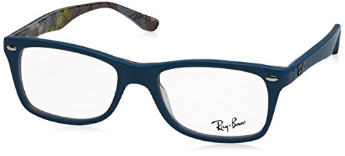 Ray-Ban RX5228 Eyeglasses-5407 Blue/Camo-50mm ()
