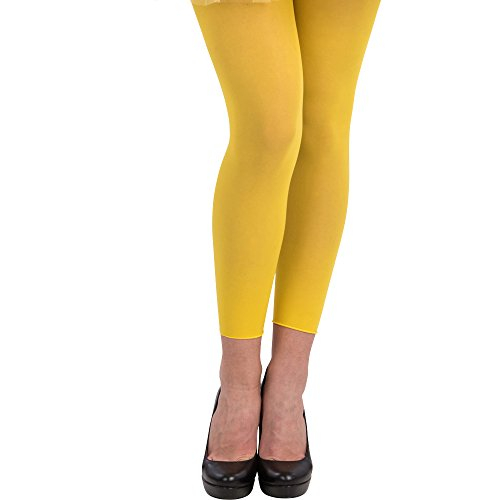Carnival Toys Leggins/Yellow Fluo, Adult, One Size