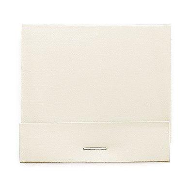 Weddingstar 41092-08 Plain Matchbook Decorative Item, White