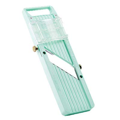 Japanese Mandoline Slicer Set With Built In Blade and Hand Guard