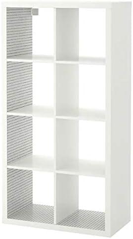 IKEA Kallax Estantería separador de habitación organizador de almacenamiento unidad de estantería con fieltros.