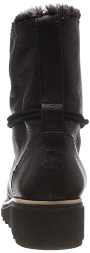 Leather Pearl Sharon black Clarks Femme Noir Botines HYBppwqP