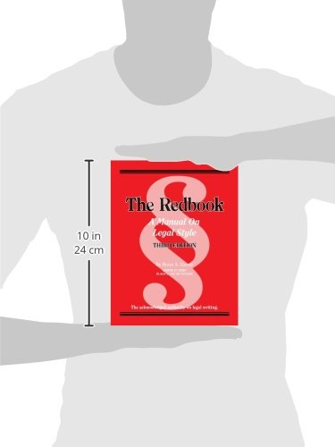 The Redbook: A Manual on Legal Style, 3d (Coursebook) by Brand: West Academic Publishing