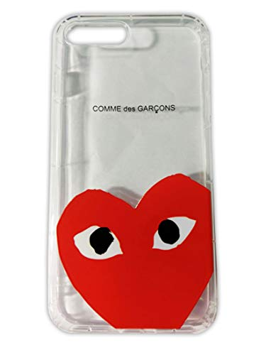 Comme des Garcons Play Heart Logo CDG iPhone 7 Plus | iPhone 8 Plus Transparent PVC Mobile Phone Case