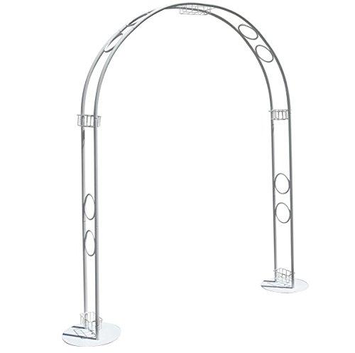 Arco ideal para bodas y celebraciones 2.33cm alto X 1.66cm largo X 23cm ancho: Amazon.es: Jardín