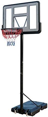 お子様用バスケットボールスタンドお子様用屋内バスケットボールスタンド、屋外用可動式リフトバスケットボールスタンドポータブルボード(カラー:ブラック、サイズ:ワンサイズ)