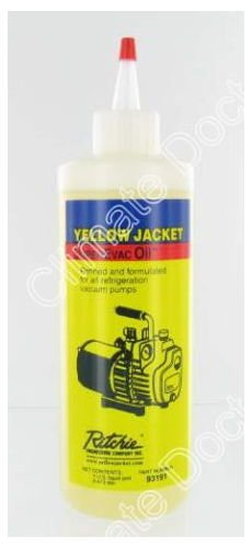 Yellow Jacket 93191 SuperEvac Vacuum Pump Oil- Pint by Yellow Jacket Ritchie