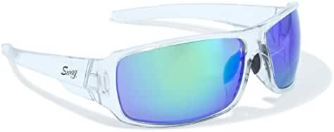 Amazing Marine Lenses in Clear Wrap Arounds with Side Protection by Swag