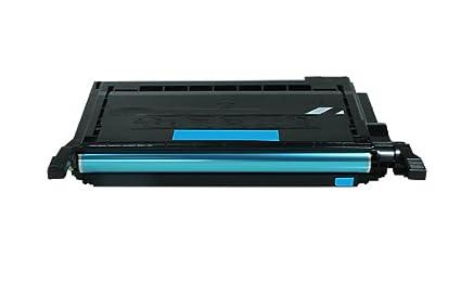printyo® Cartucho de tóner CLP-C600 A Cian Compatible para ...