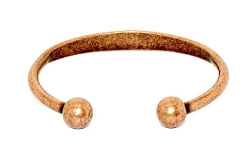 Beautiful Traditional Style Copper Magnetic Bracelet For Arthritis; Magnetic Therapy; Traditional Vintage Design; Commonly worn for Pain Relief and Magnetic Healing; Can also be worn as an (Design Copper Bracelet)