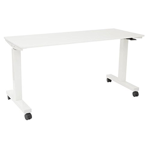 Scranton and Co 72'' Height Adjustable Work Table in White by Scranton & Co