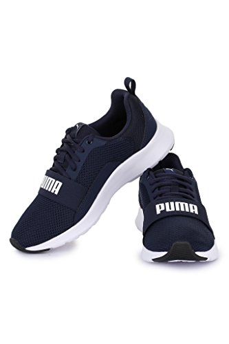 Puma Scarpa Wired white Peacoat Jr Sportiva 36690103 Bambino xgOAnx4qr