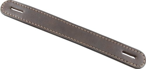 "Springfield Leather Company's Brown Leather Trunk Handle 9-3/4""x1-1/4"" (Slotted)"