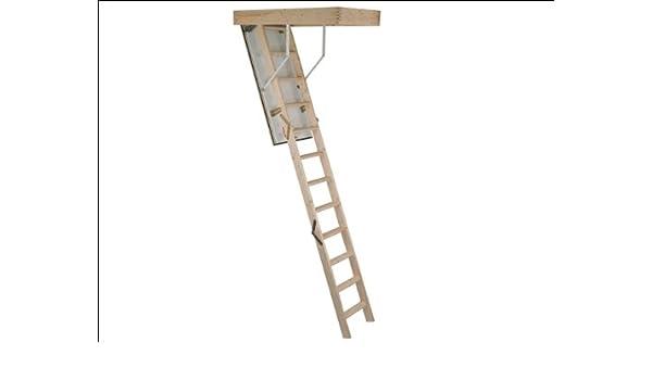 Marca potente madera escalera para desván 1190 mm x 590 mm: Amazon.es: Bricolaje y herramientas