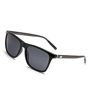 Wayfarer Sunglasses RAYSUN Men's Square Retro Driving Polarized Sun Glasses