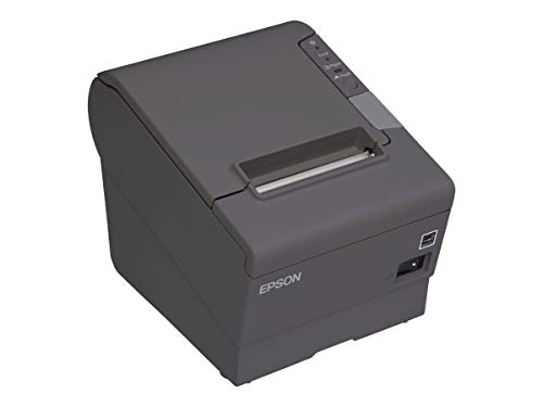 EPSON TM-T88V-330 Thermal Receipt Printer (USB and Ethernet) Power Supply Included (Renewed) (Printer Seiko Thermal)
