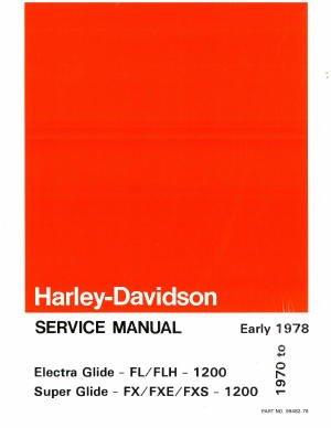 1977 Harley Davidson - 8