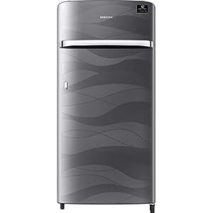 Samsung 198 L 4 Star with Inverter Single Door Refrigerator (RR21T2G2XNV/HL, Inox Wave)