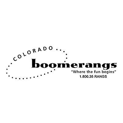 Aspen Aboriginal Boomerangs - Great for Kids 8-18!: Toys & Games