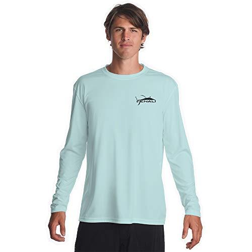 - Denali Performance Men's Teaser-Tournament UPF 50+ ProtectUV Mega Solar Long Sleeve T-Shirt with Logo