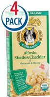 Annie's Homegrown, Organic Alfredo Shells & Cheddar, 6 oz pack of 2