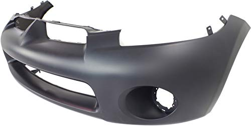 Front Bumper Cover Compatible with 2006-2008 Mitsubishi Eclipse Primed