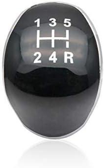 5 Gang Schaltknopf Schaltkanauf Kappe Emblem Abdeckung Für Ford Fiesta Focus Auto