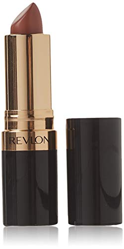 Revlon Super Lustrous Lipstick, with Vitamin E and Avocado Oil, in Brown, Cream Lipstick, 240 Sandalwood Beige, 0.15 oz (Sandalwood Height)