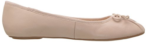 free shipping from china Nine West Women's Batoka Leather Ballet Flat Natural 2015 cheap online MeDxPwl