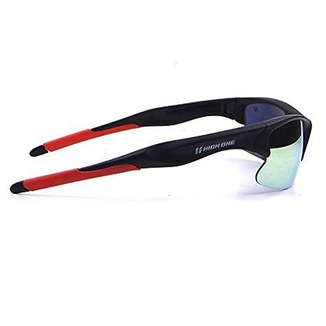 8c87e19f1e749 óculos Ciclismo HIGH ONE IRON com 3 Lentes AMAR ESP TRANSP FUME Preto   Amazon.com.br  Cozinha