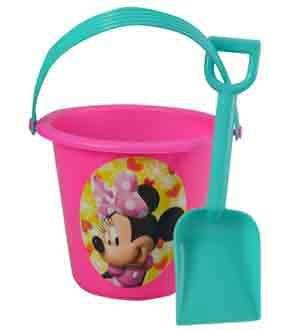 Minnie Sand Bucket Shovel 6x5x3.5 [Contains 5 Manufacturer Retail Unit(s) Per SKU# 24129MIN ()