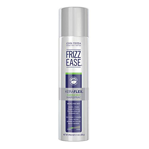 - John Frieda Frizz Ease KeraFlex Flexible Hold Hairspray, 13 Ounces