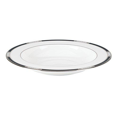 Lenox Hancock Platinum Pasta/Rim Soup Bowl, White