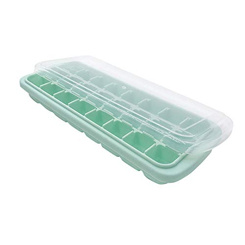 AckfulSilicone Ice Tray 24 Cubes Kitchen Bar Tools Appliances Jelly Cube Mold Tray (Green)