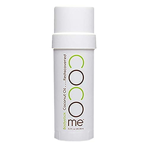 CocoMe Organic Coconut Oil Anti-Aging Beeswax Moisturizer for Skin - Dermatologist Recommended Stretch Mark, Wrinkle, Diaper Rash, Eczema Lotion - 2.2oz Nursing Lotion Bodystick