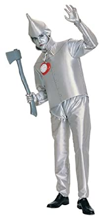 tin man adult costume fits up to 44 jacket size - Amazon Halloween Costumes Men