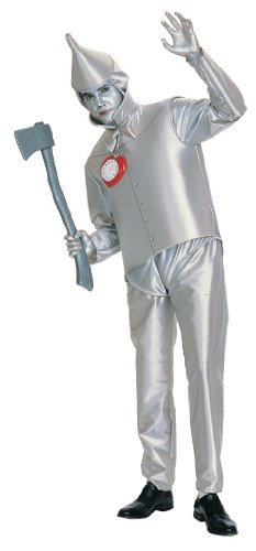 Tin Man Adult Costume (Fits up to 44 Jacket size)  sc 1 st  Amazon.com & Amazon.com: Tin Man Adult Costume (Fits up to 44 Jacket size): Clothing