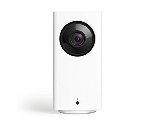 Cam Pan 1080p Pan/Tilt/Zoom Wi-Fi Indoor Smart Home Camera with Night Vision and 2-Way Audio Remote Monitor for IOS/Android APP