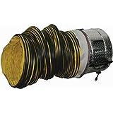 J&D VICS20-GLB 20 Portable Ventilation Fan With 20 Feet Ducting 1 HP 6500 CFM