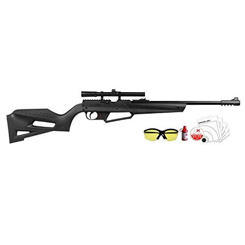 (Umarex  Nxg APX Multi Pump 490FPS .177 Caliber Airgun Kit black)