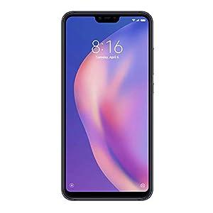 Xiaomi Mi 8 Lite (64GB, 4GB RAM) 6.26″ Full Screen Display, Snapdragon 660, Dual AI Camera's, Factory Unlocked Phone – International Global 4G LTE Version (Black)